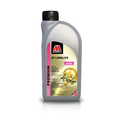 MILLERS OILS XF LONGLIFE 5W-50 1L