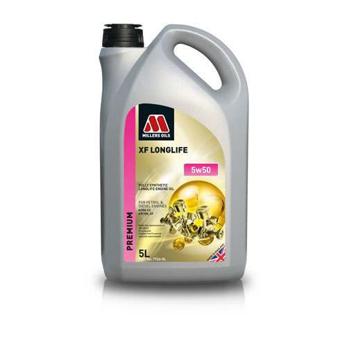 MILLERS OILS XF LONGLIFE 5W-50 5L