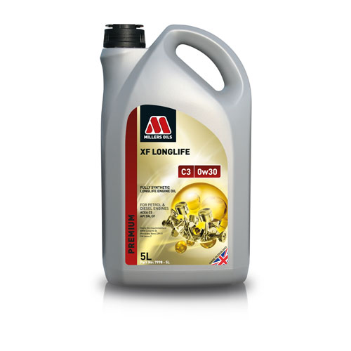 MILLERS OILS XF LONGLIFE C3 0W-30 5L