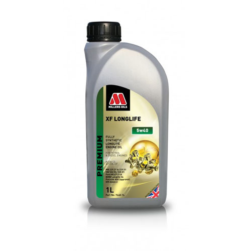MILLERS OILS XF LONGLIFE 5W-40 1L