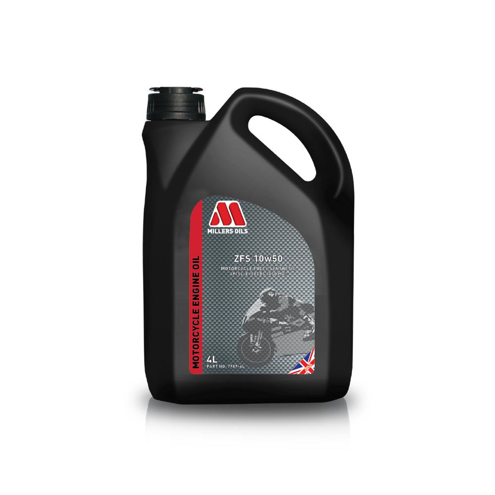 MILLERS OILS ZFS 10W-50 4T 4L