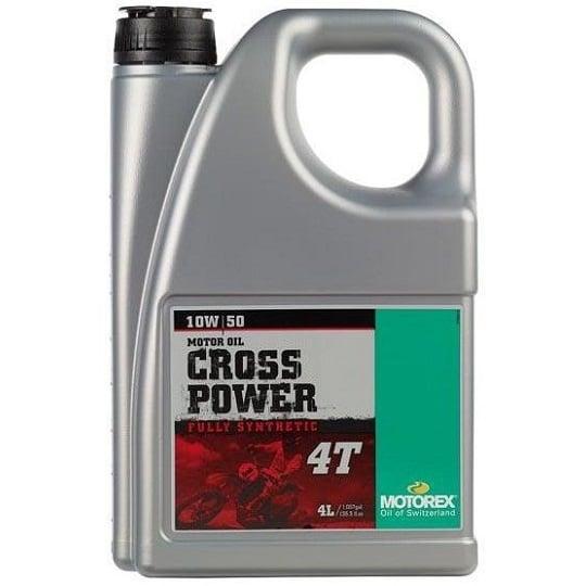 MOTOREX CROSS POWER 4T 10W-50 4L