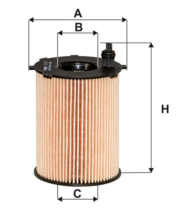 filtr oleju FILTRON OE 667/4