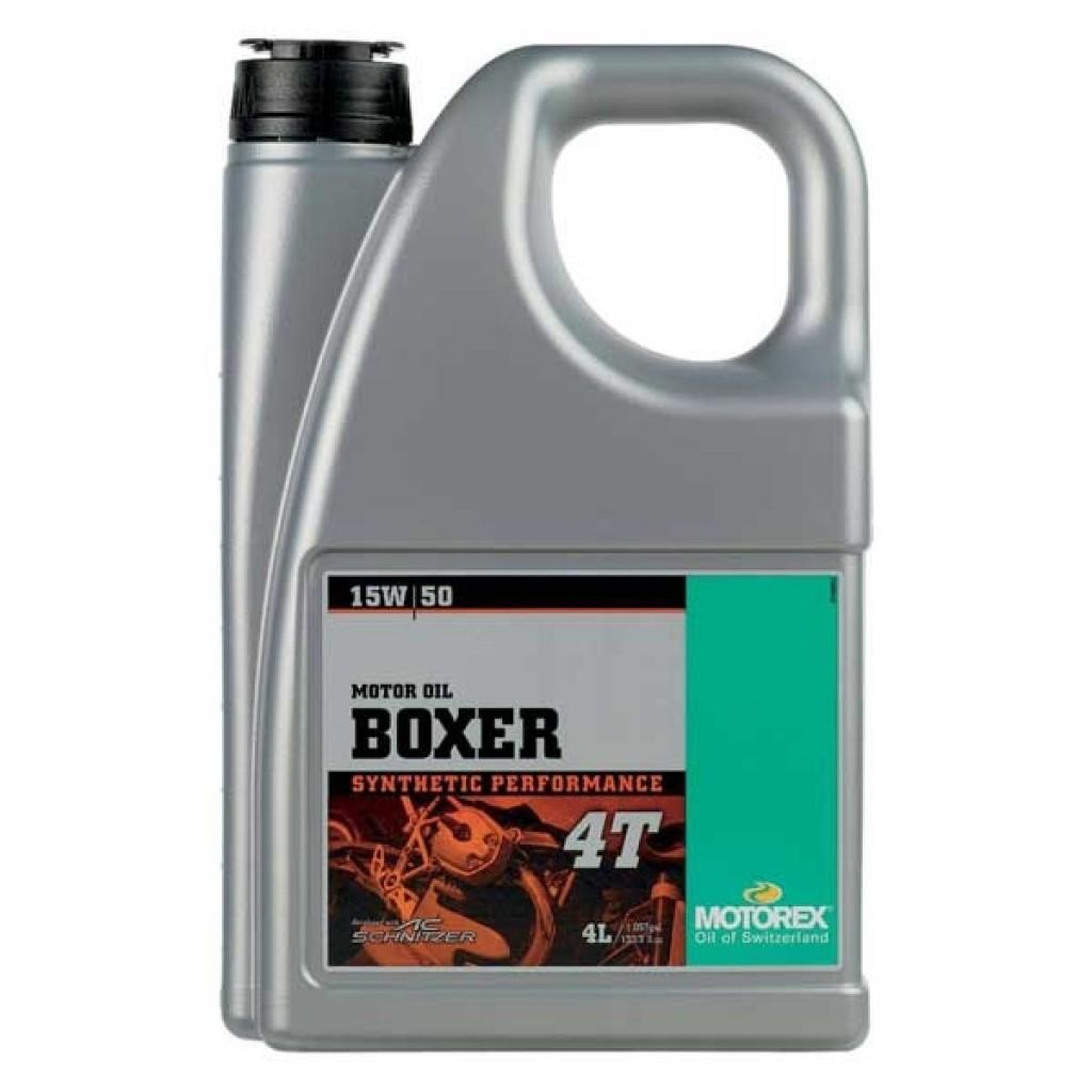 MOTOREX BOXER 4T 15W-50 4L
