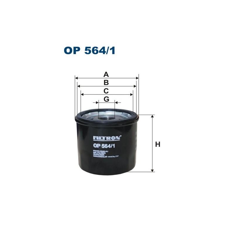 filtr oleju FILTRON OP 564/1
