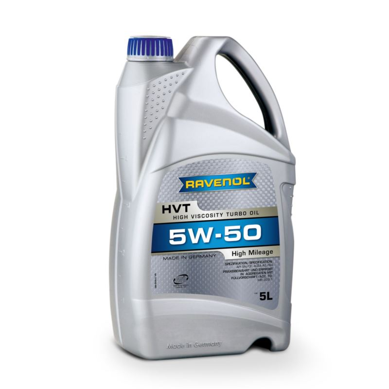 RAVENOL High Mileage HVT 5W-50 5L