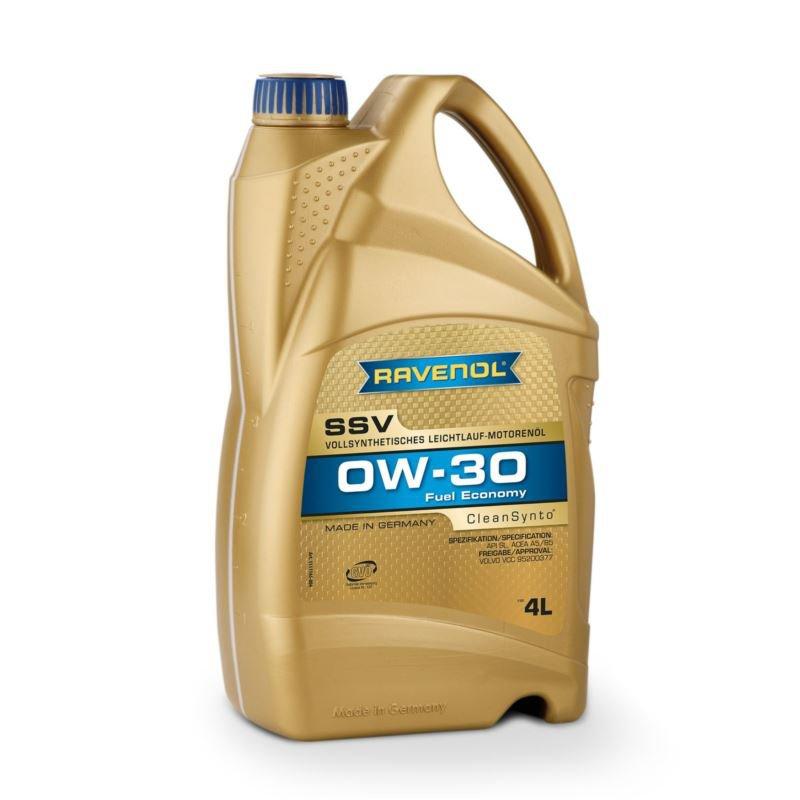 RAVENOL SSV Cleansynto SAE 0W-30 4L