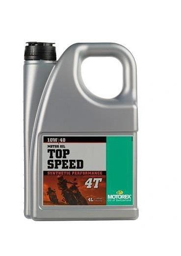 MOTOREX TOP SPEED 4T 10W-40 4L