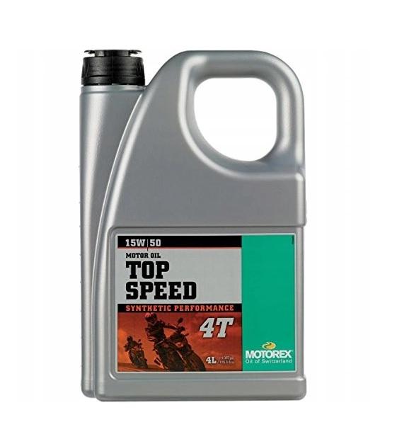 MOTOREX TOP SPEED 4T 15W-50 4L